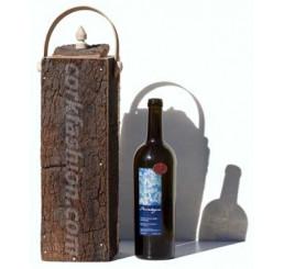 Caja de corcho, para 1 botella (modelo RC-GL0703006001)